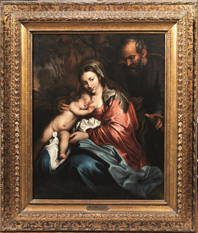 sacra famiglia by sir anthony van dyck