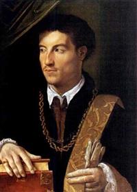 ritratto di gentiluomo by nicolo dell' abbate