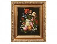 exotic flower still life by hans herrmann