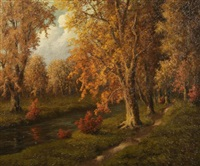 autumn landscape by richard kruger