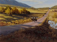 the country road by richard audley freeman