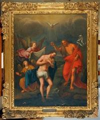le baptême du christ by nicolas mignard