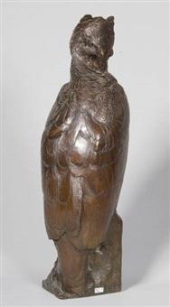 aigle couronné by alberic collin