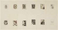 endless (set of 11) by bill jensen