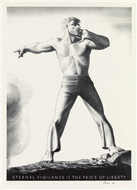 eternal vigilance is the price of liberty by rockwell kent