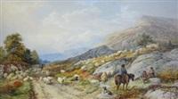 highland flocks by edward duncan
