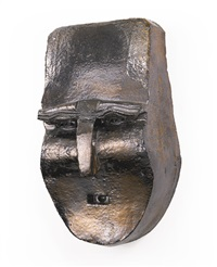 maske (no. 13) by thomas schütte