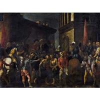die gefangennahme christi mit dem judaskuss by anonymous-italian (17)