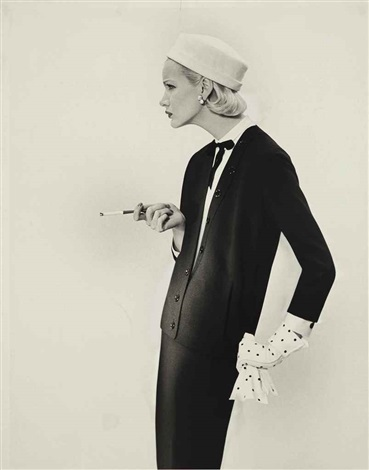 sunny harnett suit by spectator limited by richard avedon