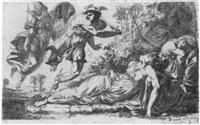 perseus enthauptet medusa, von athene unterstützt by alexander runciman