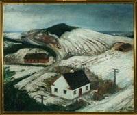 vinterbillede fra gjern bakker by erik raadal