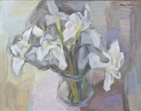 irises by may (mary ellen) hillhouse