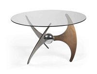 axe tripod table by l. campanini