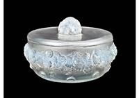 box with lid: primeveres by rené lalique
