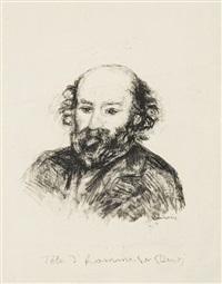 paul cézanne by pierre-auguste renoir