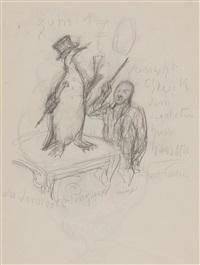 der dressierte pinguin by alfred kubin