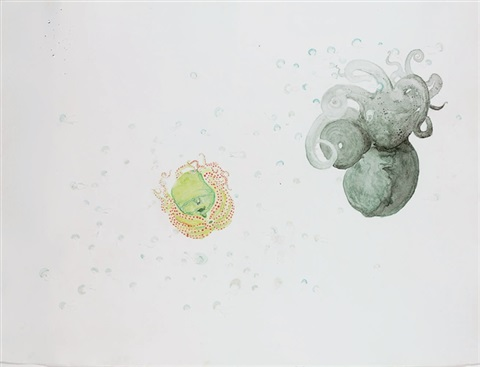 untitled from the watery ecstatic series by ellen gallagher