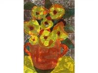 nocturne red vase by john harold thomas snow