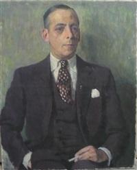 portrait d'andré mayer by willem van hasselt