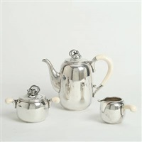 coffee set (set of 3) by holger rasmussen