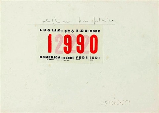 1990 Calendario.Calendario By Alighiero Boetti On Artnet