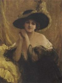 an elegant lady by sydney percy kendrick