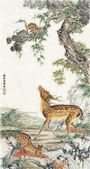 鹿 by ji kang