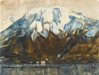 monte tamaro am lago maggiore (monte tamaro on lake maggiore) by christian rohlfs