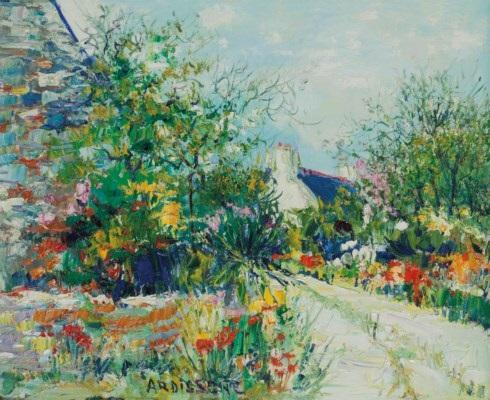 Un Chemin Dans Le Jardin By Yolande Ardissone On Artnet