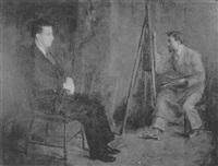 studio scene by susan hannah macdowell eakins