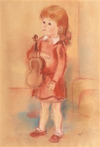 micuţa violonistă by aurel jiquidi