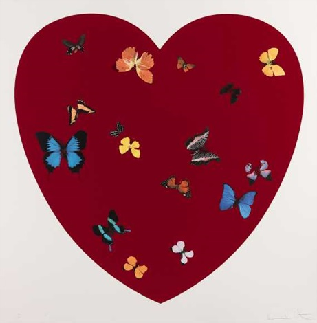 big love by damien hirst