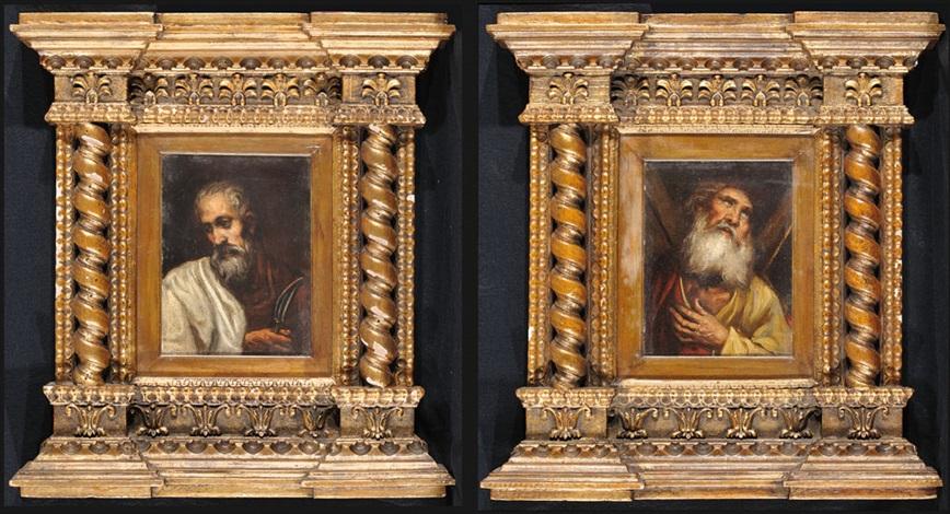 san pietro martire santandrea pair by el greco