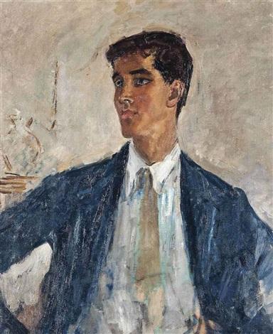 portrait of henry john by augustus edwin john