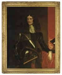 portrait of king charles ii by pieter nason