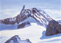 il dente del gigante - monte bianco by mario solazzo
