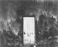 white door, eureka, nevada by oliver gagliani