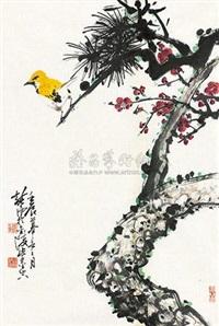 松梅图 by xu chunyuan