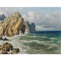 the cliffs at capri by michele federico
