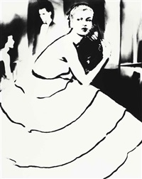 born to dance, dress by emily wilkins by lillian bassman