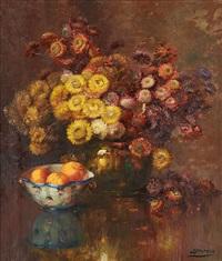 Julien stappers auctions results artnet for Bouquet fleuri