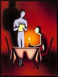 la solitudine by mark kostabi