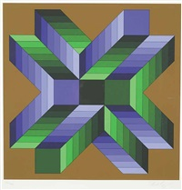 ma ta fem by victor vasarely