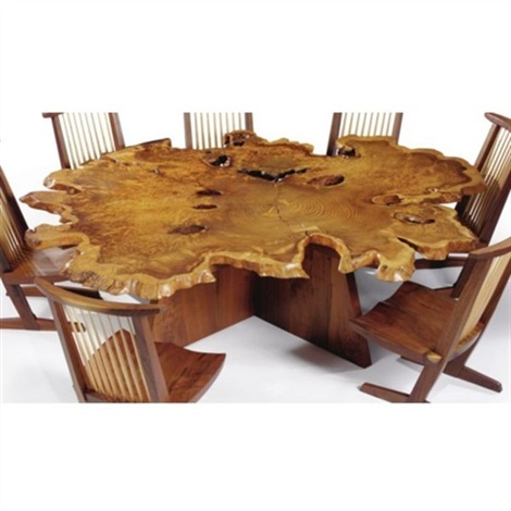 arlyn table from the arlyn room melody woods iii princeton new jersey by george nakashima