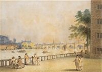 westminster bridge, london by edward dayes