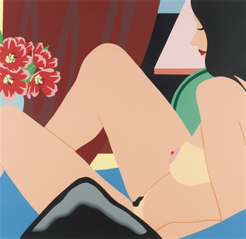 helen nude by tom wesselmann