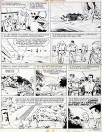 bob morane, planche n°42 by dino attanasio