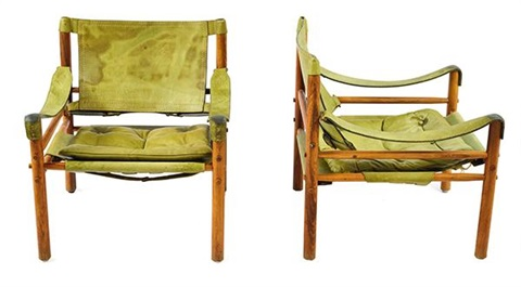 Safari Chairs By Arne Norell