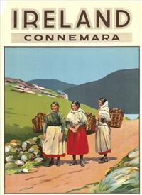 ireland, connemara (poster) by walter till