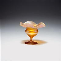 dessertschale by louis comfort tiffany